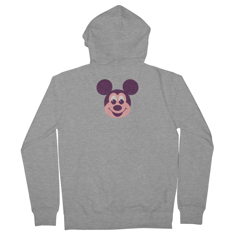 Mouse Men's French Terry Zip-Up Hoody by Ryder Doty Shop