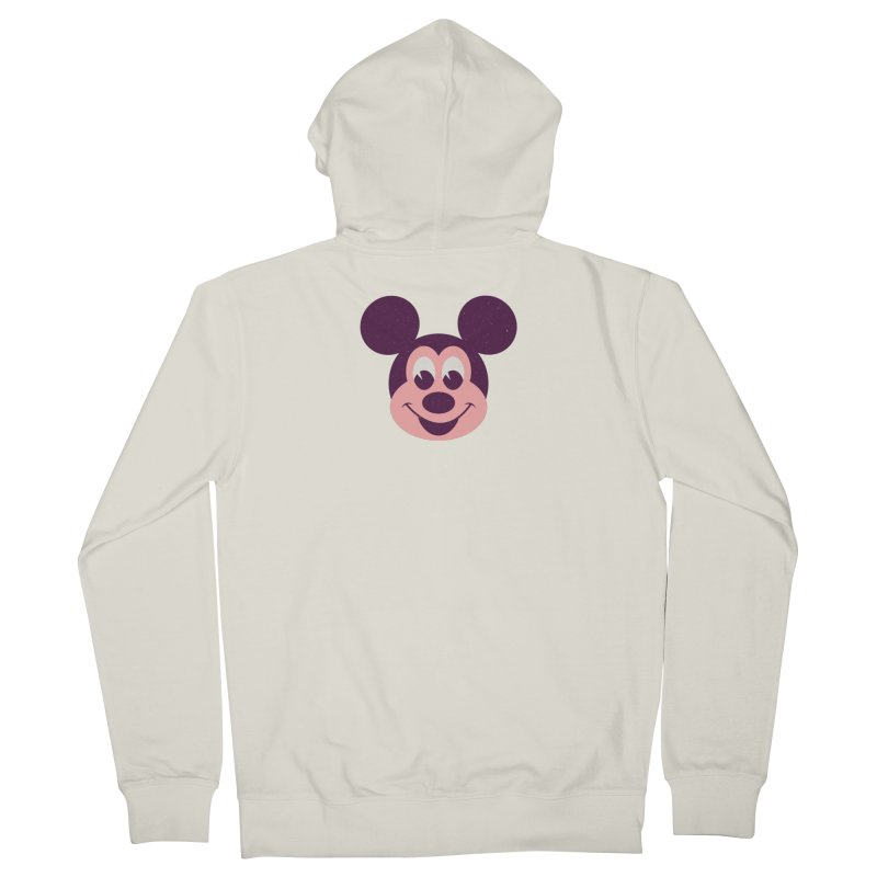 Mouse Men's Zip-Up Hoody by Ryder Doty Shop