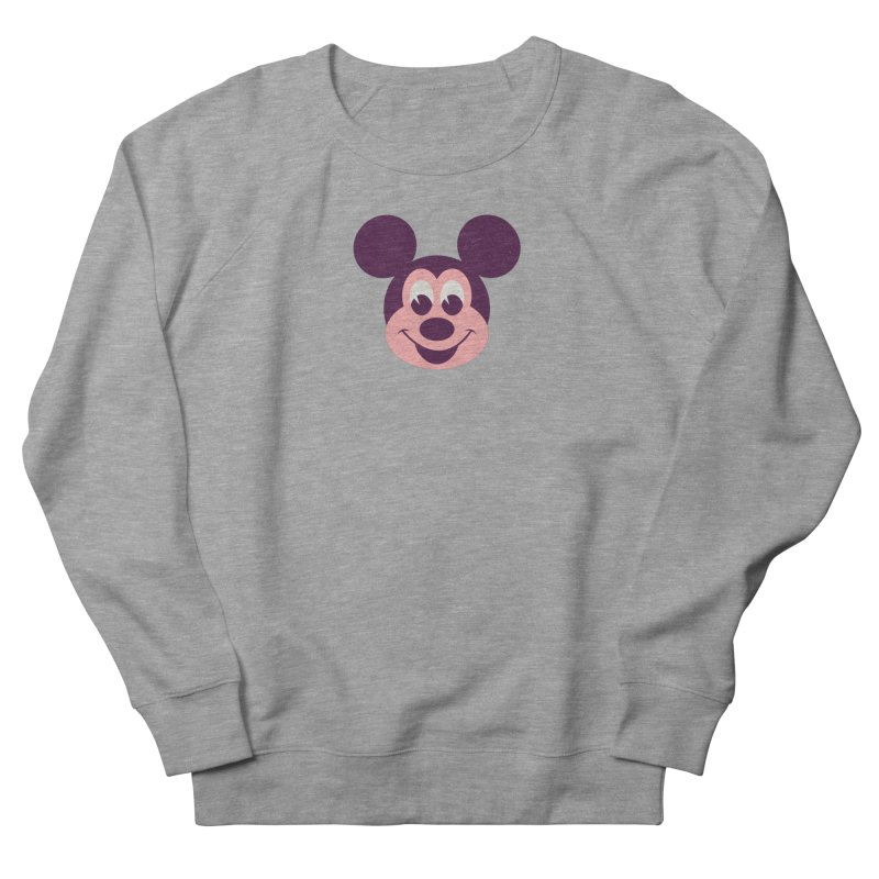 Mouse Men's French Terry Sweatshirt by Ryder Doty Shop