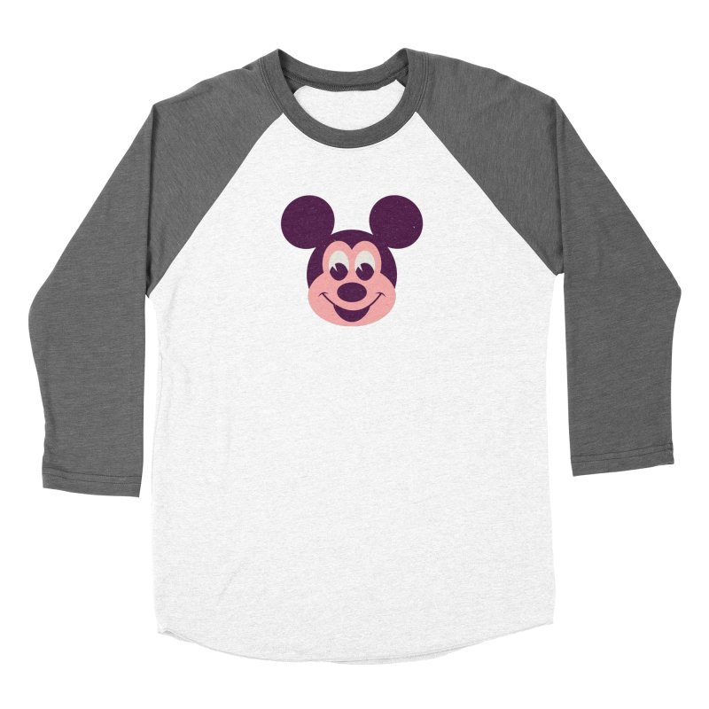 Mouse Women's Baseball Triblend Longsleeve T-Shirt by Ryder Doty Shop