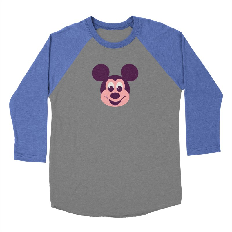 Mouse Men's Baseball Triblend T-Shirt by Ryder Doty Shop