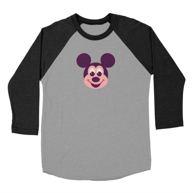 Mouse Men's Baseball Triblend Longsleeve T-Shirt by Ryder Doty Shop