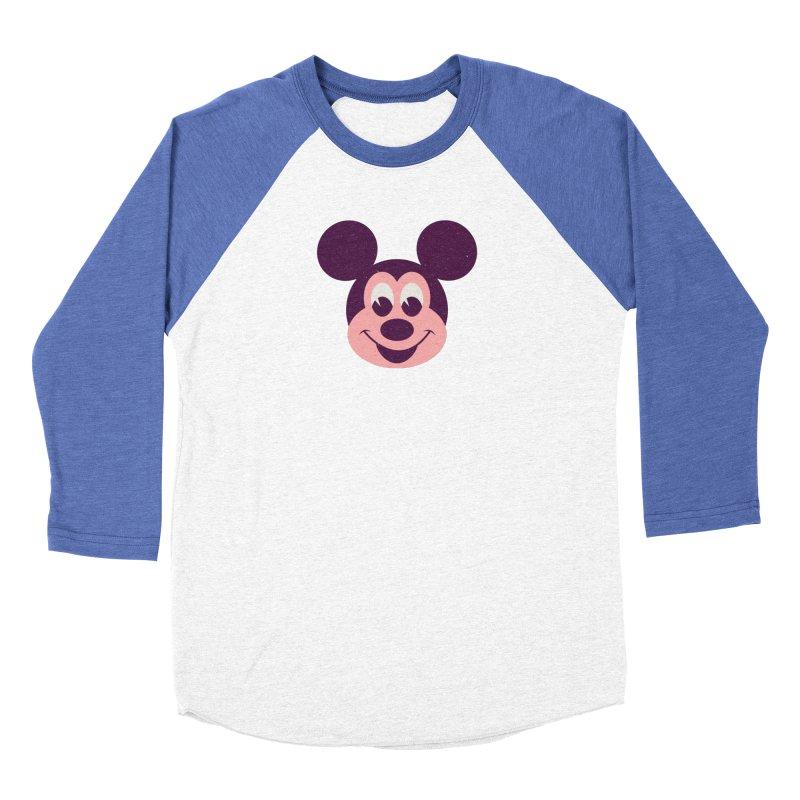 Mouse Men's Baseball Triblend T-Shirt by Ryder Doty Shop