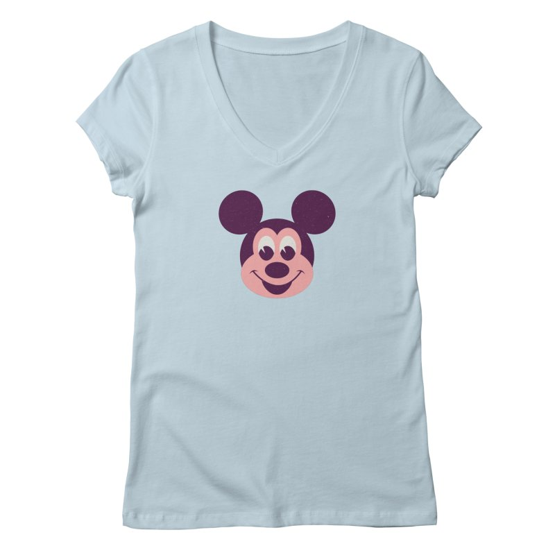 Mouse Women's V-Neck by Ryder Doty Shop