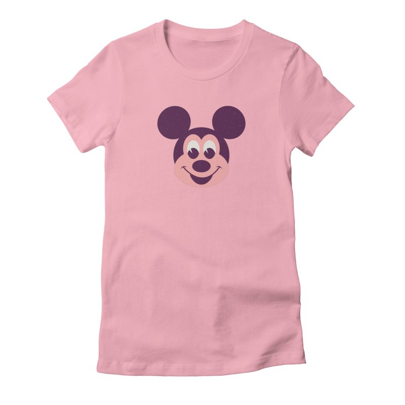Mouse Women's Fitted T-Shirt by Ryder Doty Shop