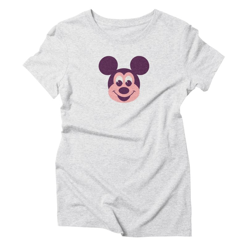 Mouse Women's Triblend T-Shirt by Ryder Doty Shop
