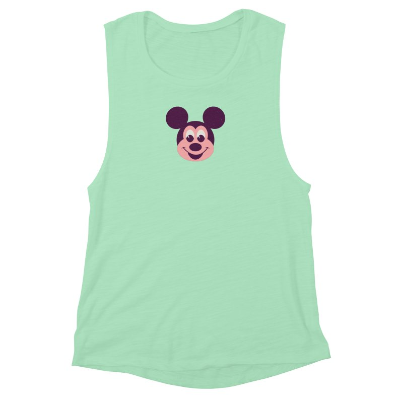Mouse Women's Muscle Tank by Ryder Doty Shop