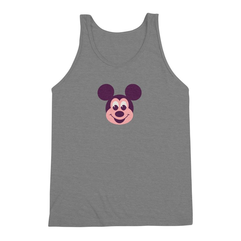 Mouse Men's Triblend Tank by Ryder Doty Shop