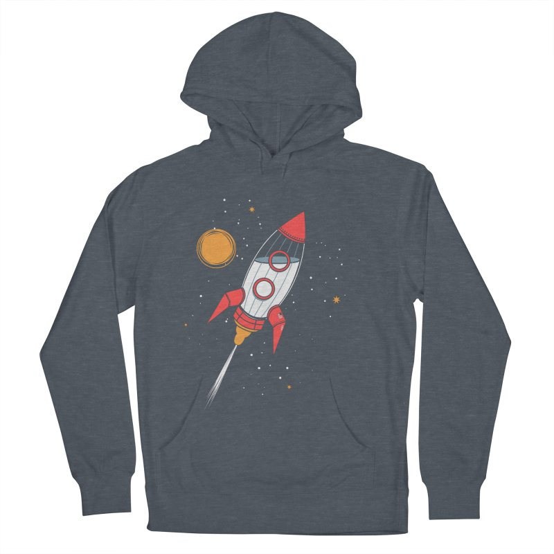Bottle Rocket Women's French Terry Pullover Hoody by Ryder Doty Shop