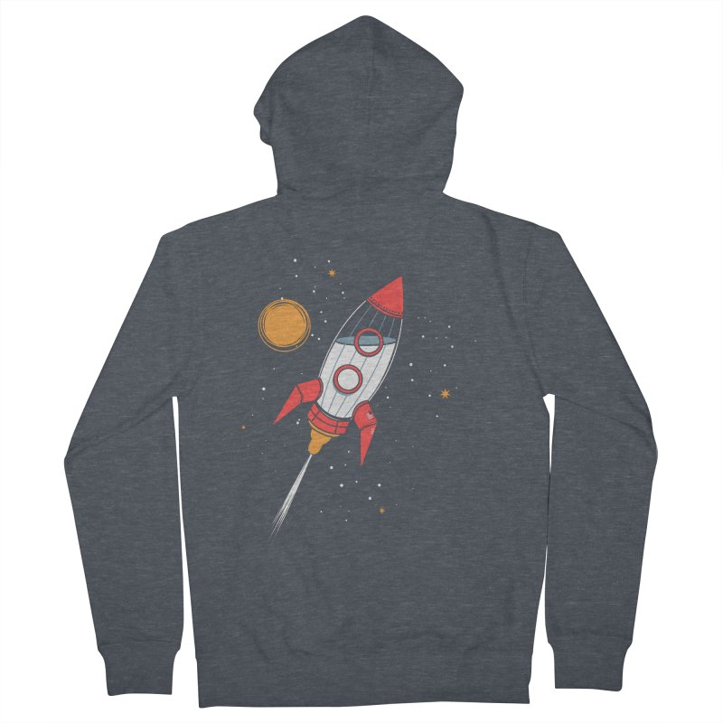 Bottle Rocket Men's French Terry Zip-Up Hoody by Ryder Doty Shop