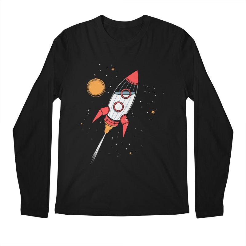 Bottle Rocket Men's Longsleeve T-Shirt by Ryder Doty Shop