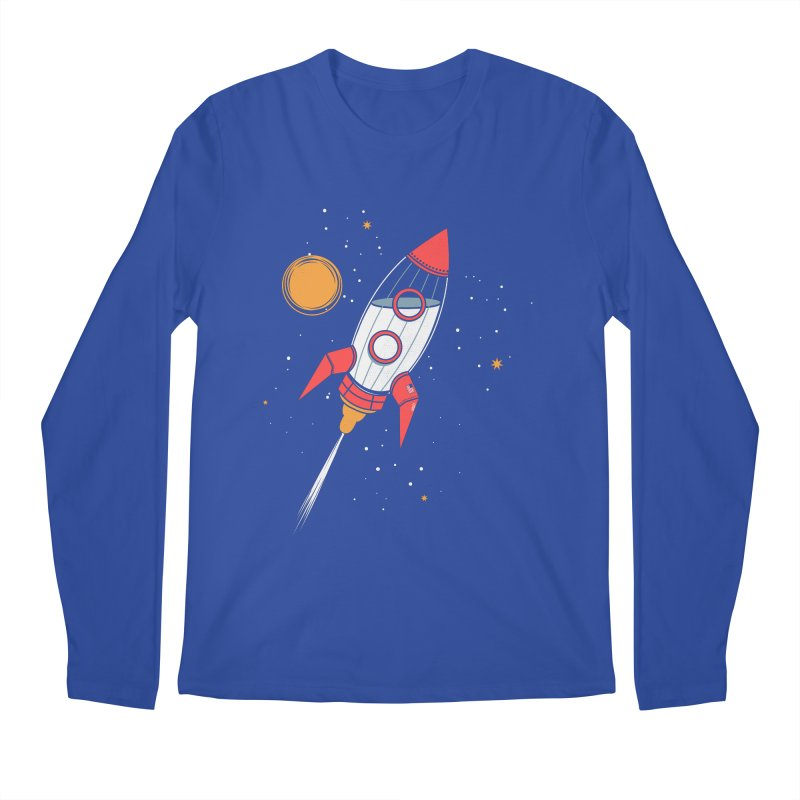 Bottle Rocket Men's Regular Longsleeve T-Shirt by Ryder Doty Shop
