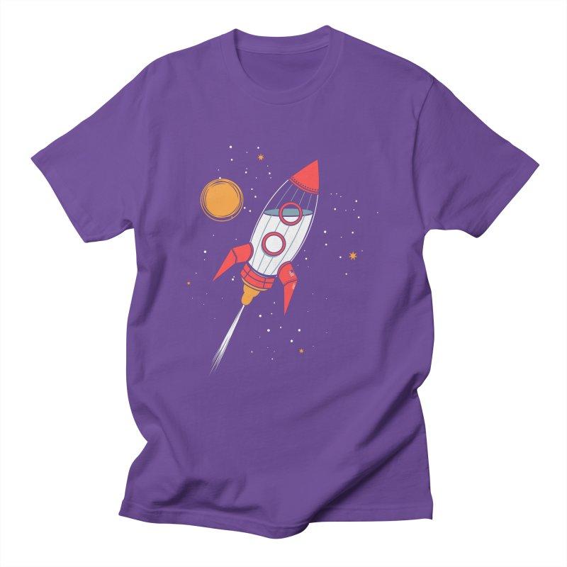 Bottle Rocket Women's Regular Unisex T-Shirt by Ryder Doty Shop