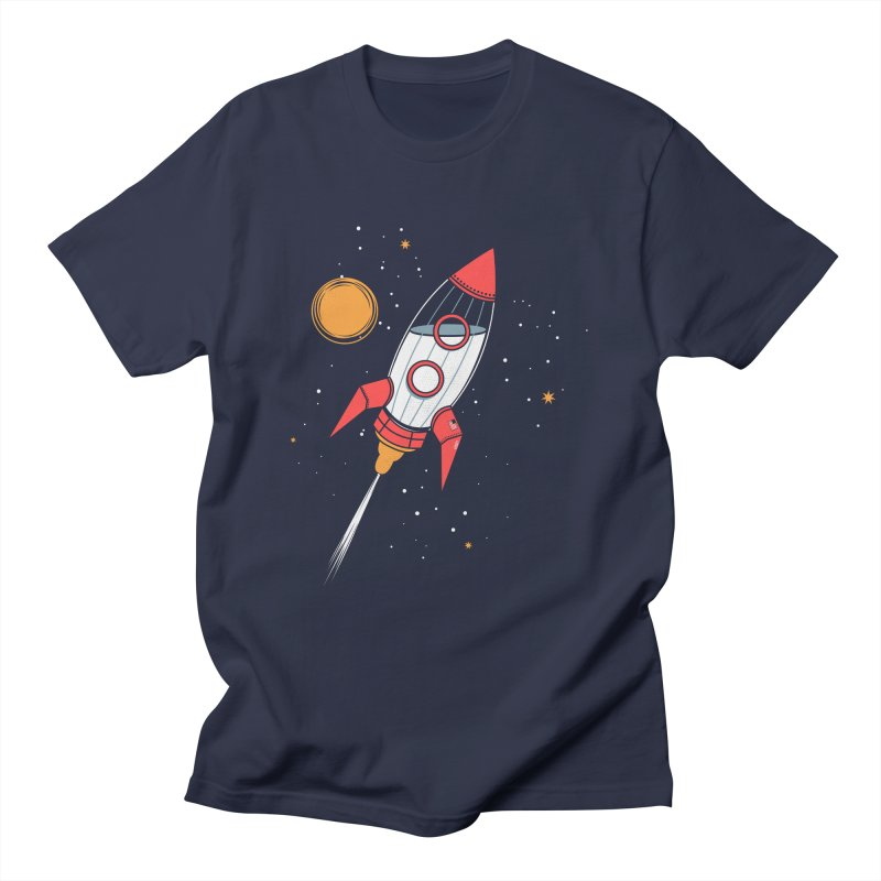 Bottle Rocket Women's Unisex T-Shirt by Ryder Doty Shop