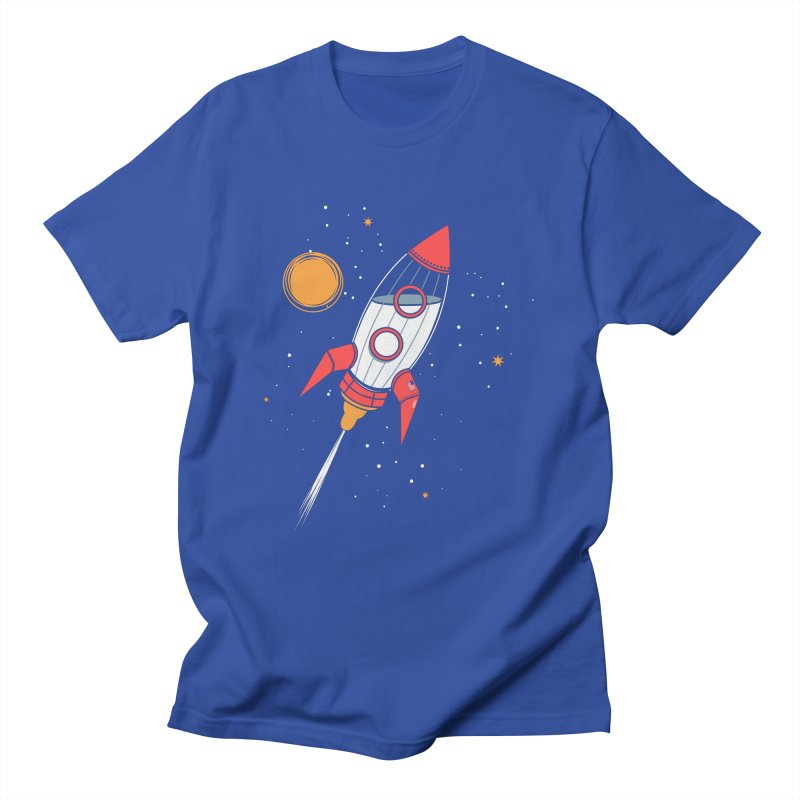 Bottle Rocket Men's T-shirt by Ryder Doty Shop