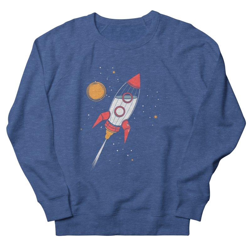 Bottle Rocket Women's French Terry Sweatshirt by Ryder Doty Shop