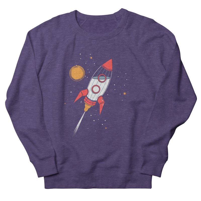 Bottle Rocket Men's French Terry Sweatshirt by Ryder Doty Shop