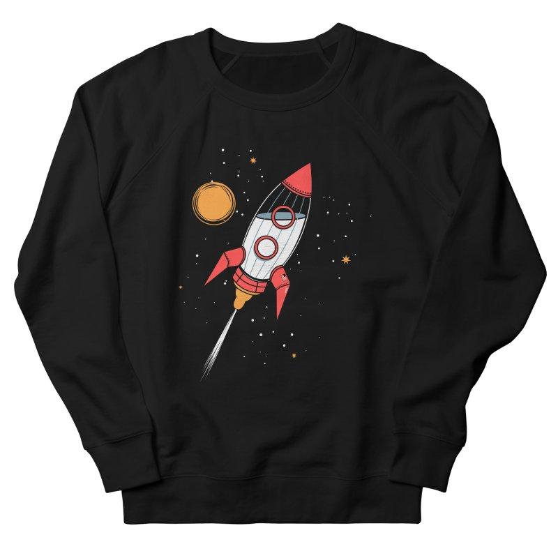 Bottle Rocket Men's French Terry Sweatshirt by Ryder Doty Shop