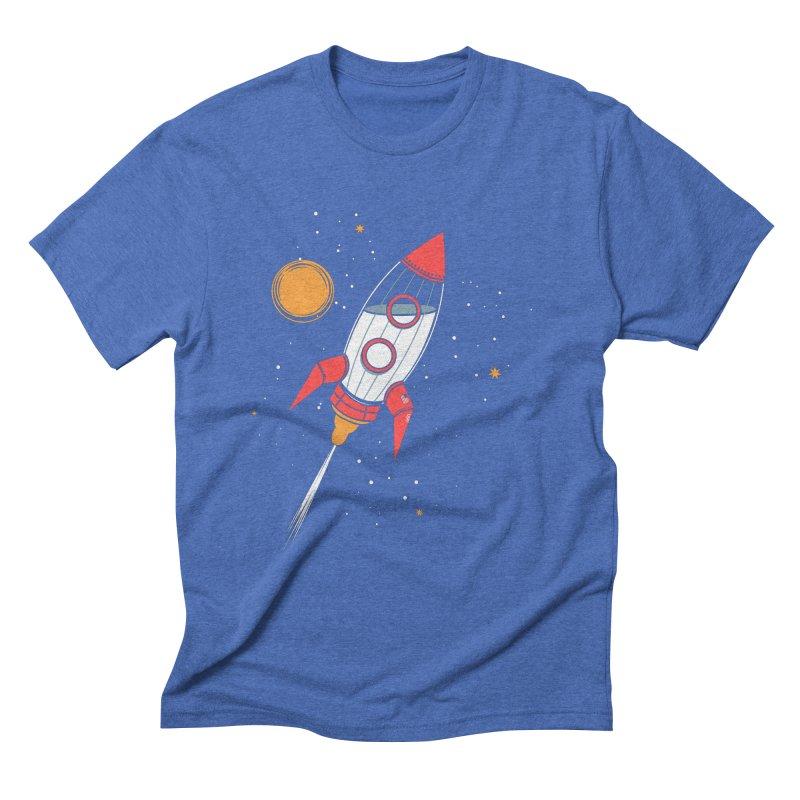 Bottle Rocket Men's Triblend T-Shirt by Ryder Doty Shop