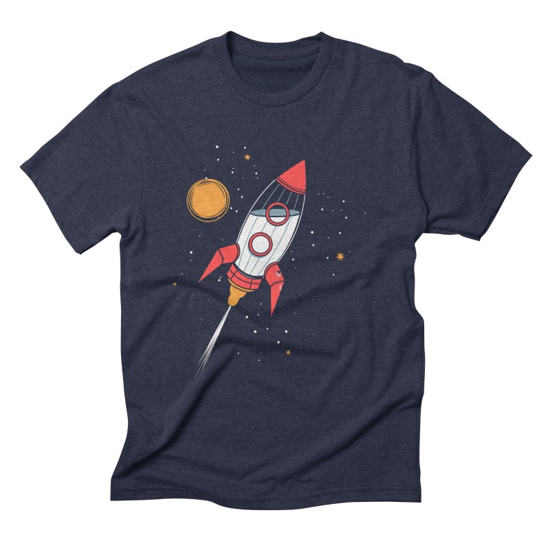 Bottle Rocket Men's Triblend T-Shirt by Ryder Doty Shop