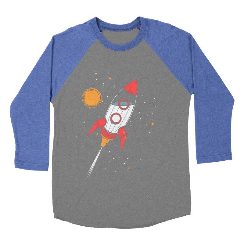 Bottle Rocket Men's Baseball Triblend T-Shirt by Ryder Doty Shop