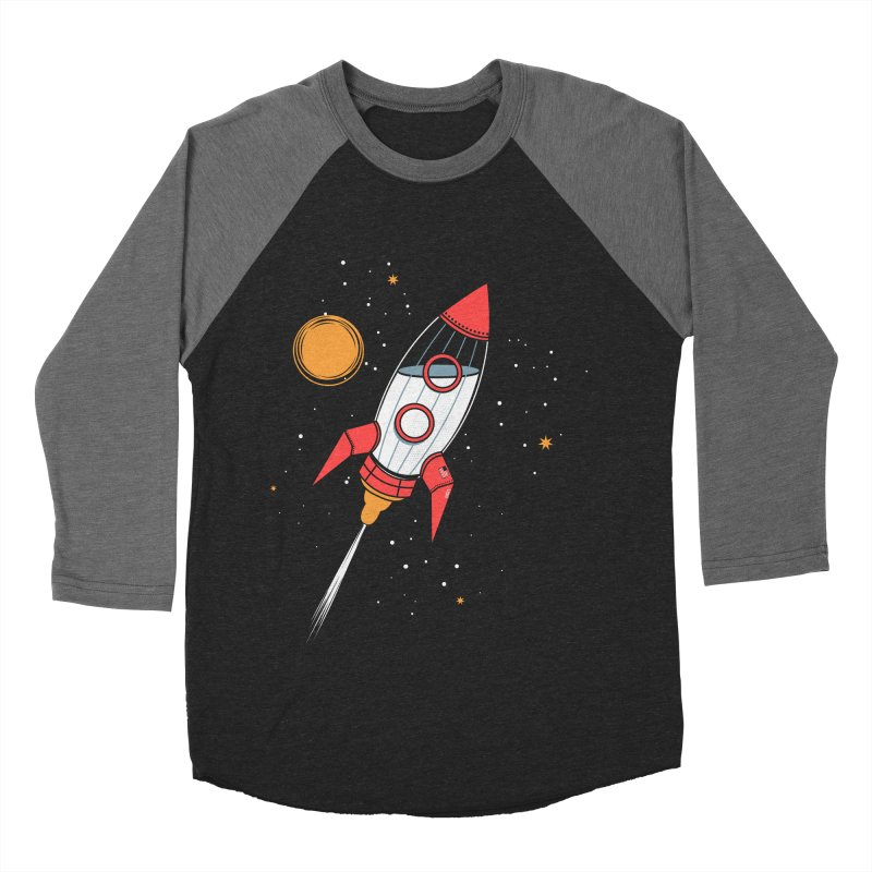 Bottle Rocket Men's Baseball Triblend Longsleeve T-Shirt by Ryder Doty Shop