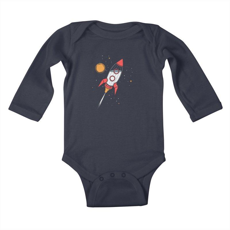 Bottle Rocket Kids Baby Longsleeve Bodysuit by Ryder Doty Shop