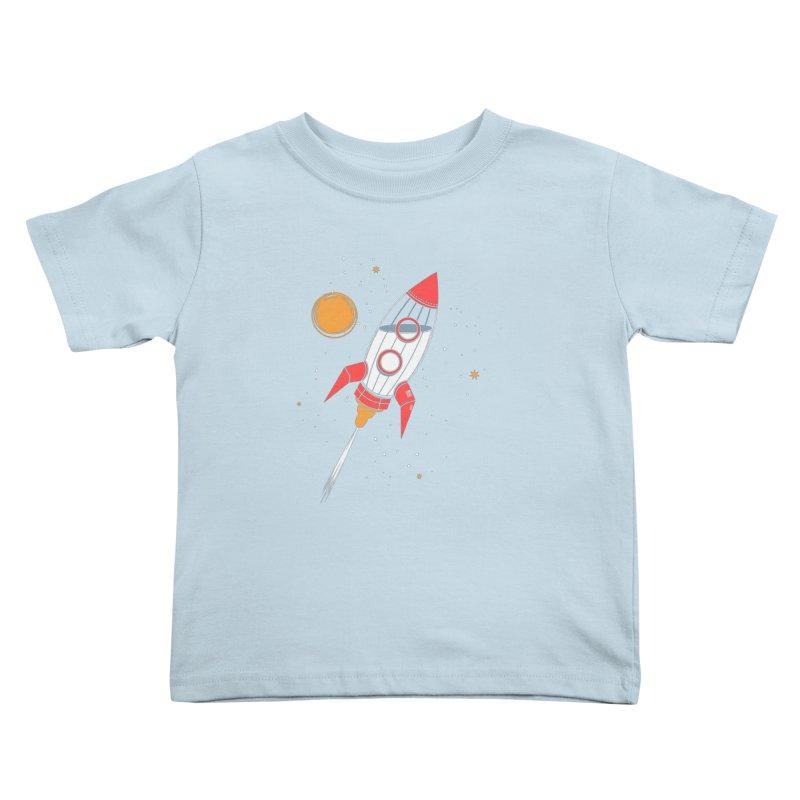 Bottle Rocket Kids Toddler T-Shirt by Ryder Doty Shop