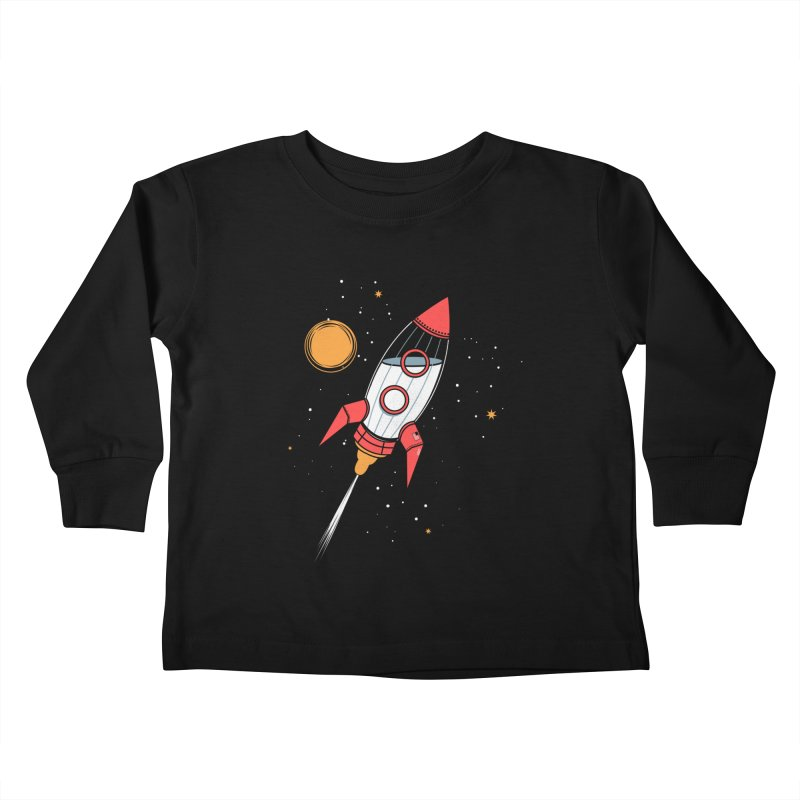 Bottle Rocket Kids Toddler Longsleeve T-Shirt by Ryder Doty Shop