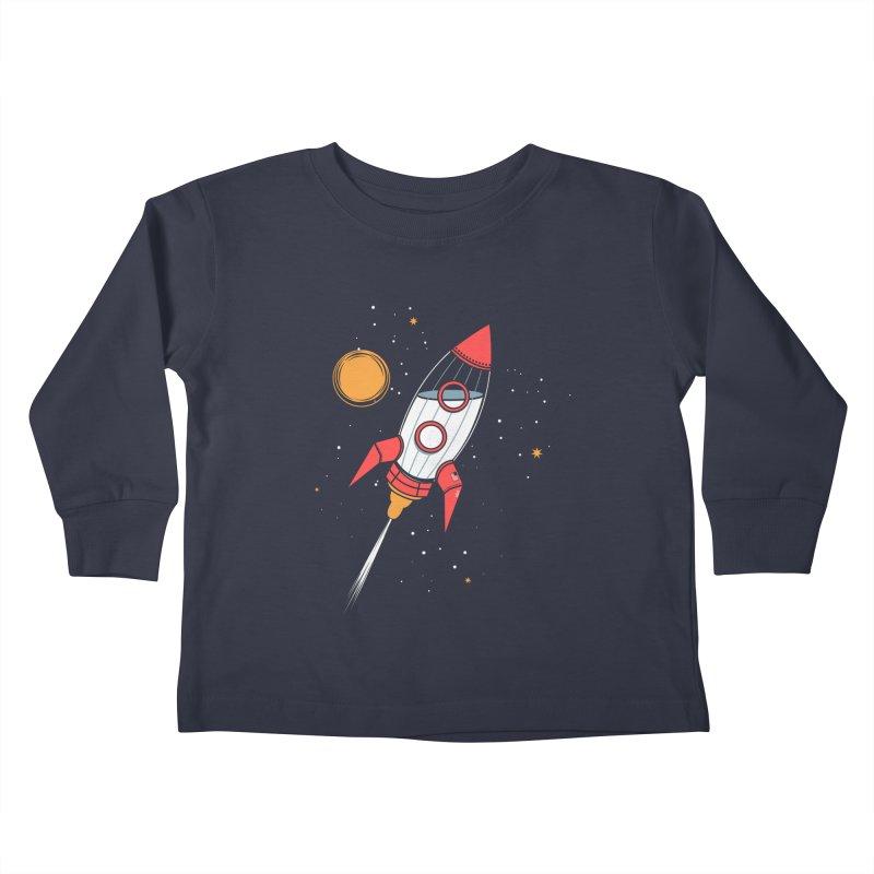 Bottle Rocket Kids Toddler Longsleeve T-Shirt by Ryder Doty Shop