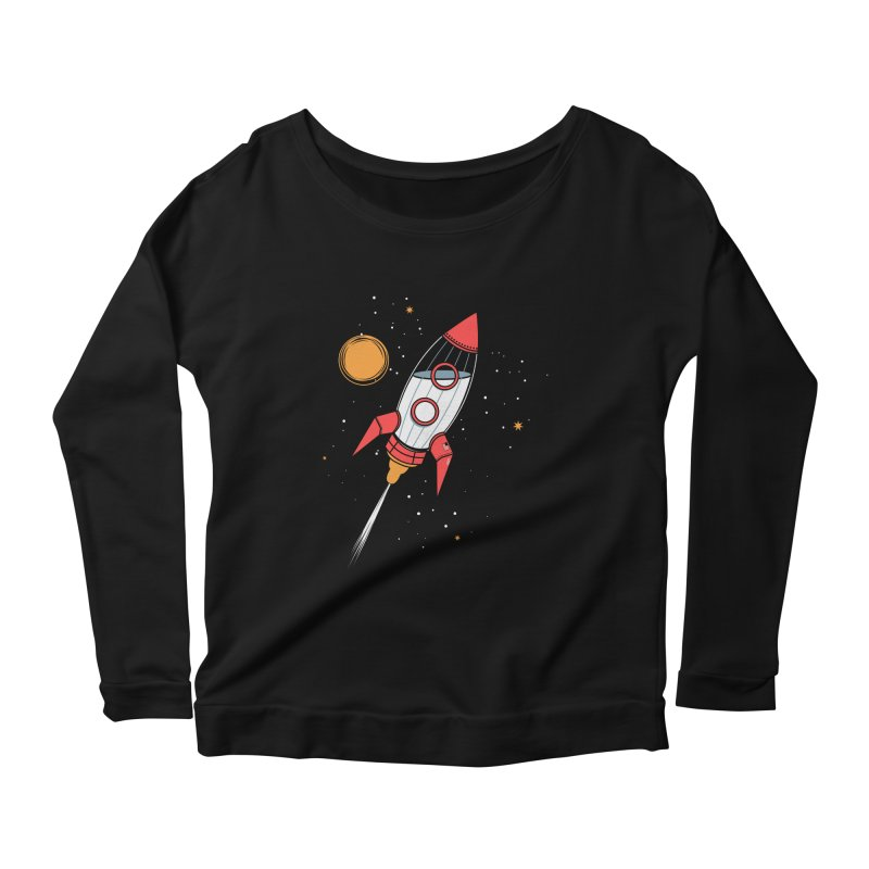 Bottle Rocket Women's Longsleeve Scoopneck  by Ryder Doty Shop