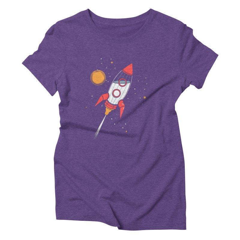 Bottle Rocket Women's Triblend T-Shirt by Ryder Doty Shop