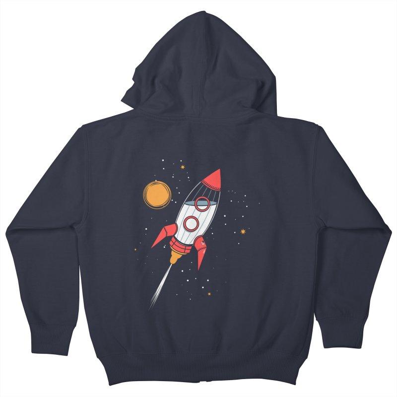 Bottle Rocket Kids Zip-Up Hoody by Ryder Doty Shop