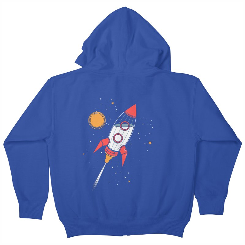 Bottle Rocket Kids Zip-Up Hoody by Ryder Doty Shop