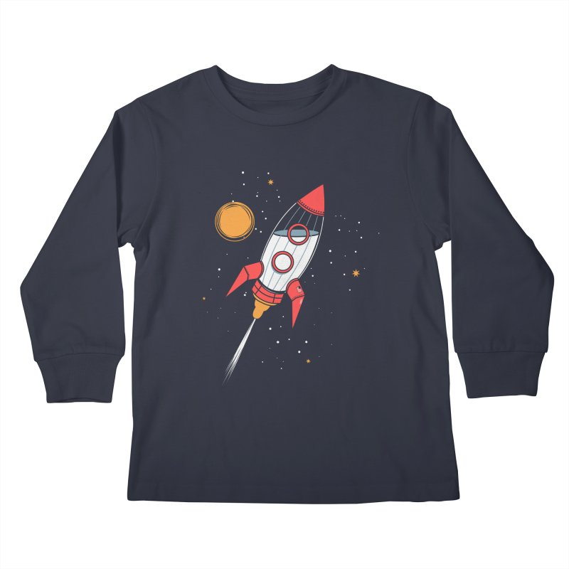 Bottle Rocket Kids Longsleeve T-Shirt by Ryder Doty Shop
