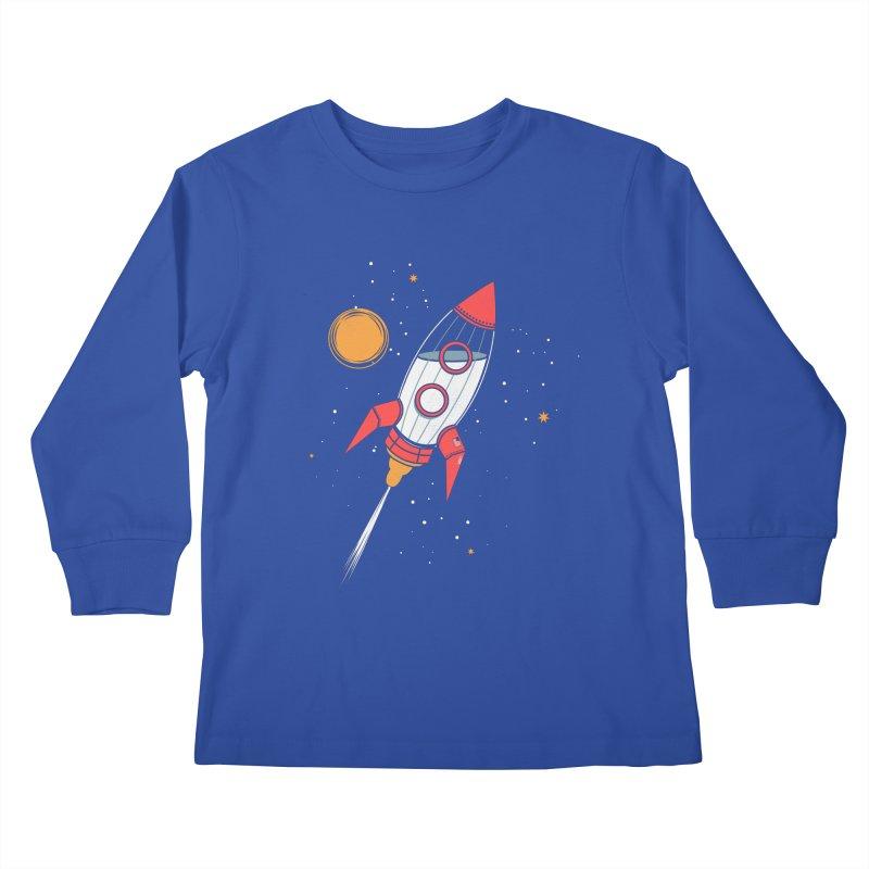 Bottle Rocket Kids Longsleeve T-Shirt by Ryder Doty Shop