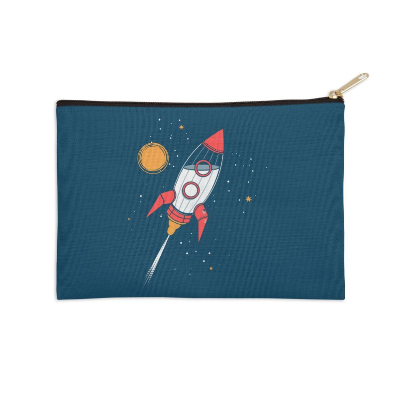 Bottle Rocket Accessories Zip Pouch by Ryder Doty Shop
