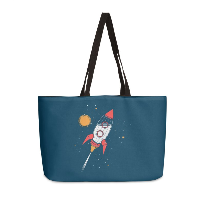 Bottle Rocket Accessories Weekender Bag Bag by Ryder Doty Shop
