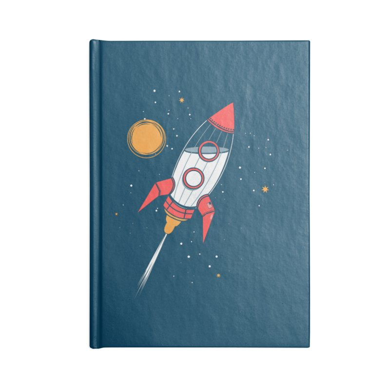 Bottle Rocket Accessories Lined Journal Notebook by Ryder Doty Shop