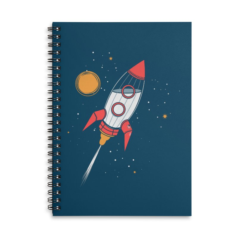 Bottle Rocket Accessories Lined Spiral Notebook by Ryder Doty Shop