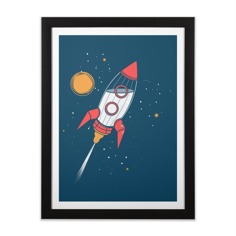 Bottle Rocket Home Framed Fine Art Print by Ryder Doty Shop