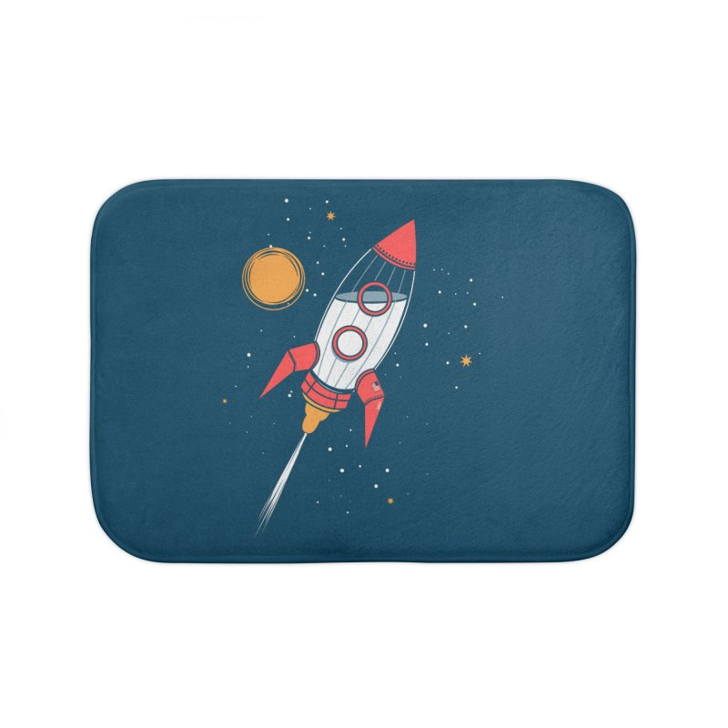 Bottle Rocket Home Bath Mat by Ryder Doty Shop