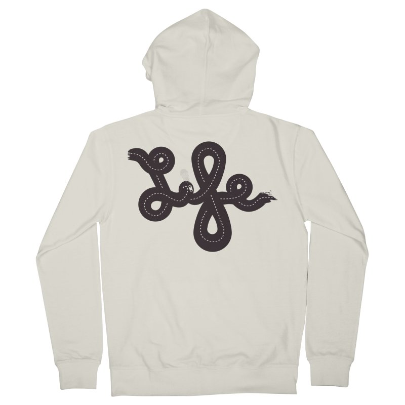 Life is a Highway Women's Zip-Up Hoody by Ryder Doty Design Shop