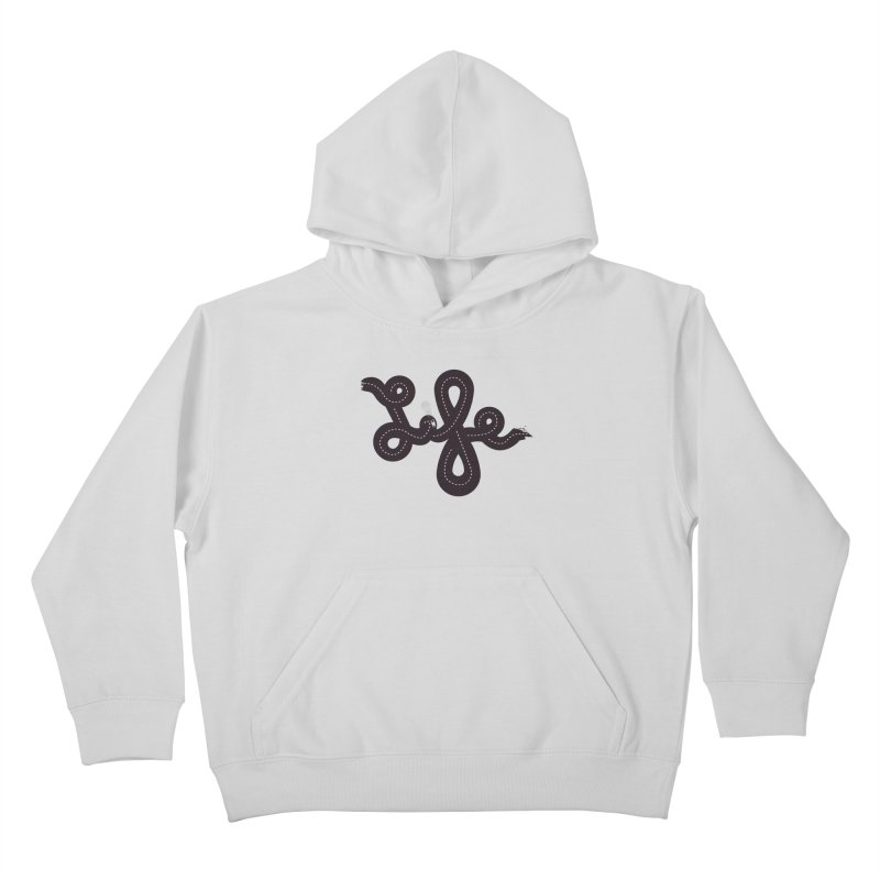 Life is a Highway Kids Pullover Hoody by Ryder Doty Shop