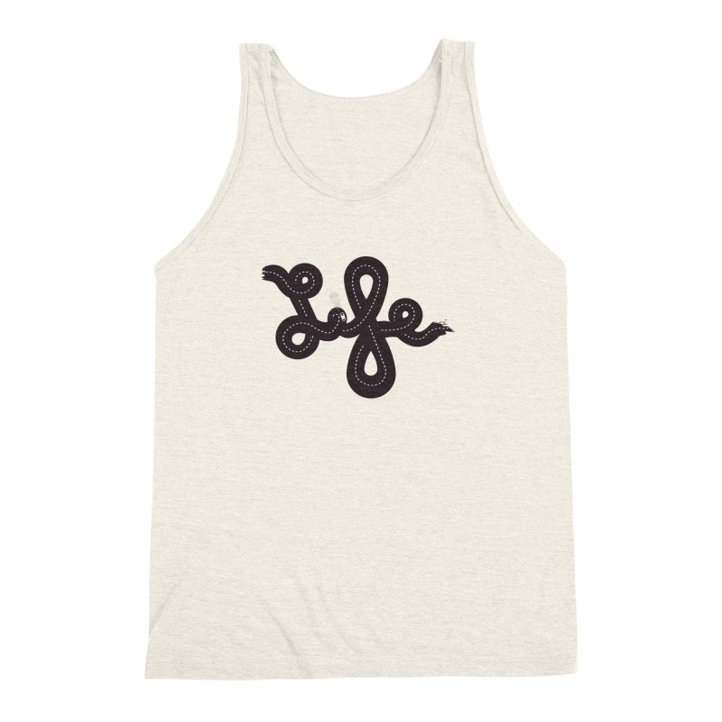 Life is a Highway Men's Triblend Tank by Ryder Doty Design Shop