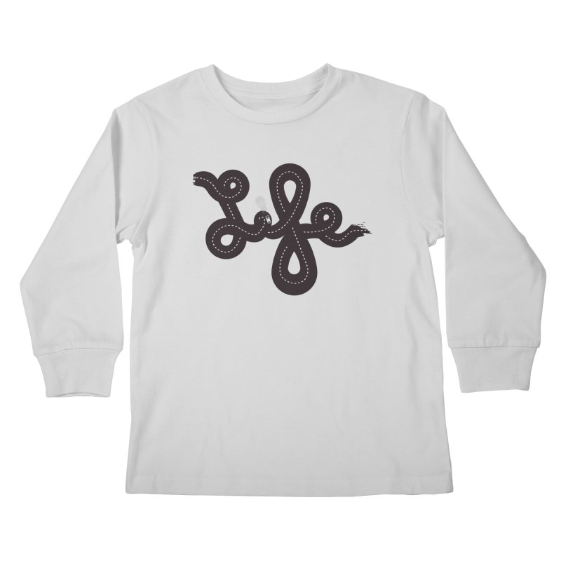 Life is a Highway Kids Longsleeve T-Shirt by Ryder Doty Shop