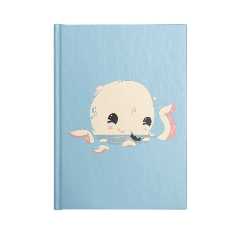 Adorable Octopus Battle Accessories Notebook by Ryder Doty Shop