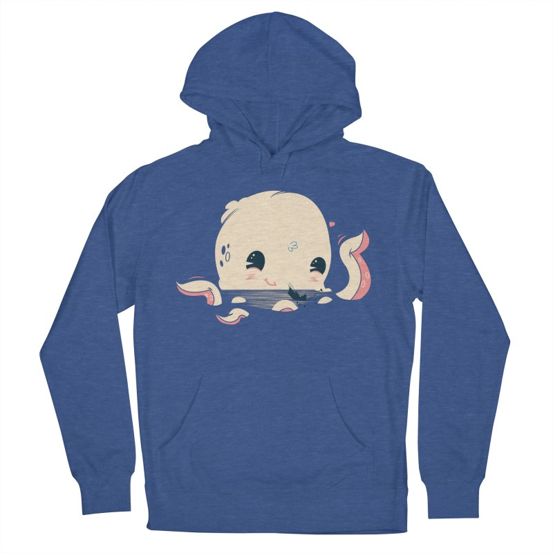 Adorable Octopus Battle Women's Pullover Hoody by Ryder Doty Design Shop