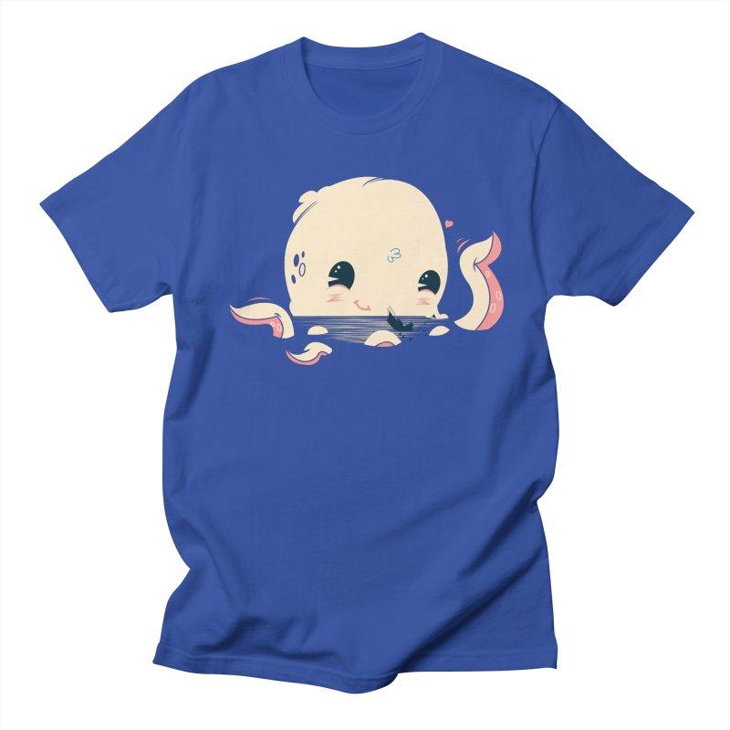Adorable Octopus Battle Men's T-shirt by Ryder Doty Design Shop