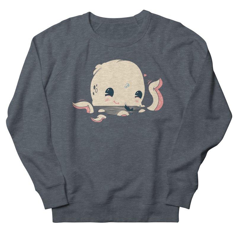 Adorable Octopus Battle Women's Sweatshirt by Ryder Doty Design Shop